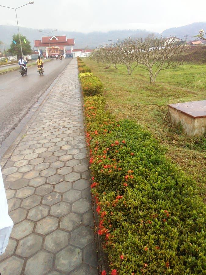 Universidad de Soupanouvong imagen de archivo libre de regalías