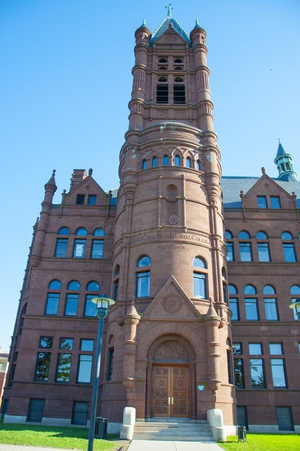 Universidad de Syracuse, Syracuse, Nueva York, los E.E.U.U. imagenes de archivo