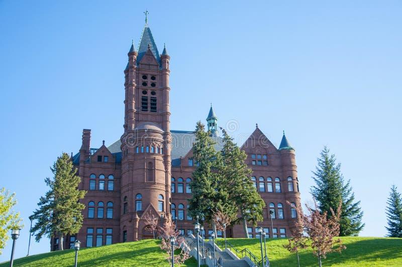 Universidad de Syracuse, Syracuse, Nueva York, los E.E.U.U. fotos de archivo