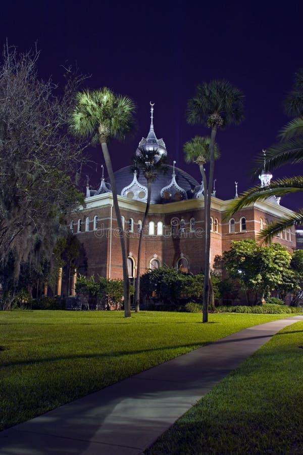 Universidad de Tampa imágenes de archivo libres de regalías