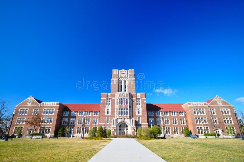 Universidad de Tennessee imagen de archivo