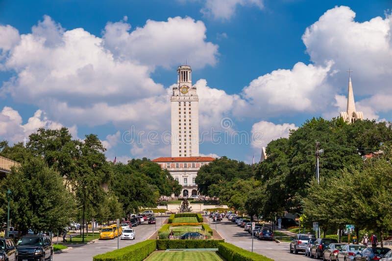 Universidad de Texas foto de archivo libre de regalías