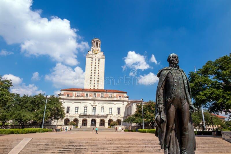 Universidad de Texas imágenes de archivo libres de regalías