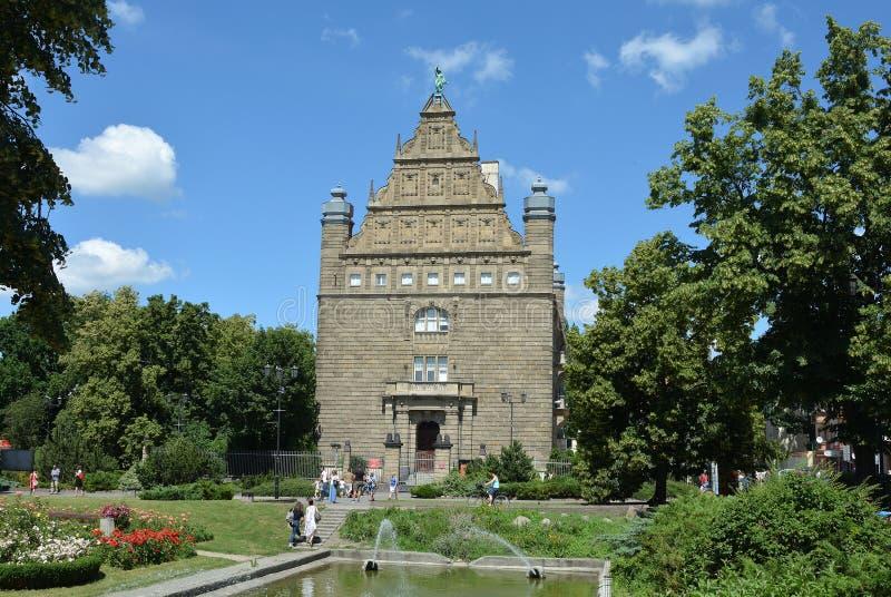 Universidad de Torun - Polonia fotos de archivo