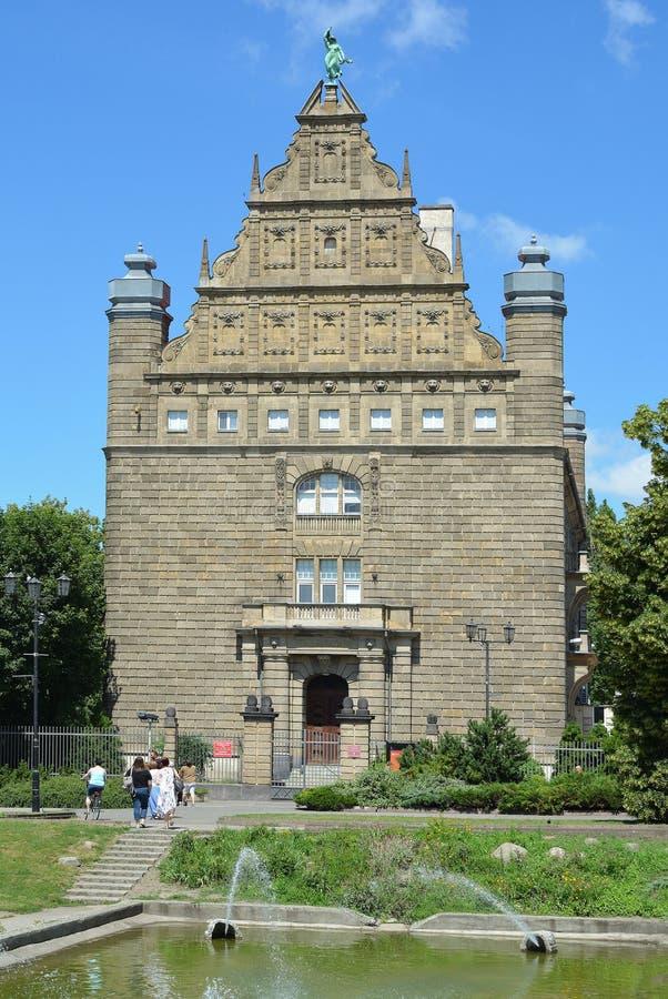 Universidad de Torun - Polonia imagen de archivo libre de regalías