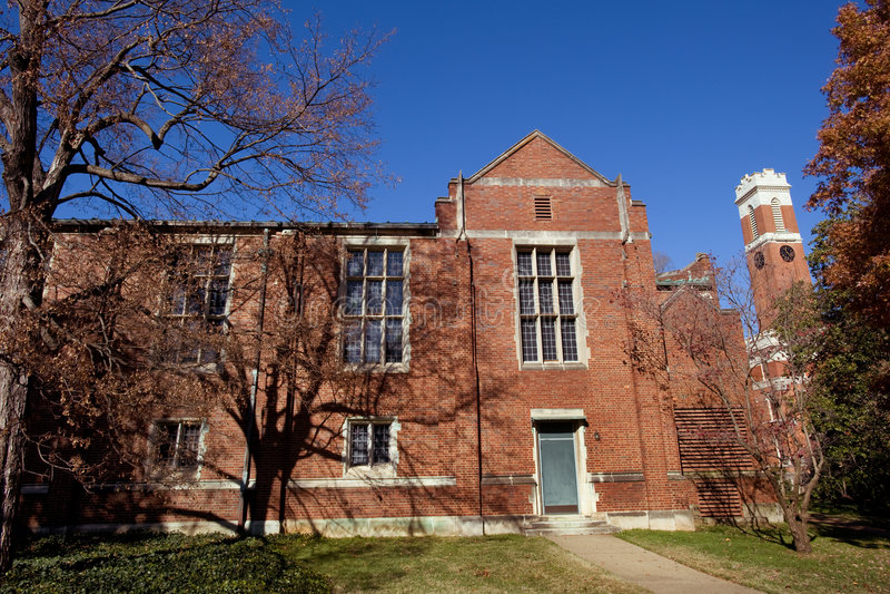 Universidad de Vanderbilt foto de archivo libre de regalías