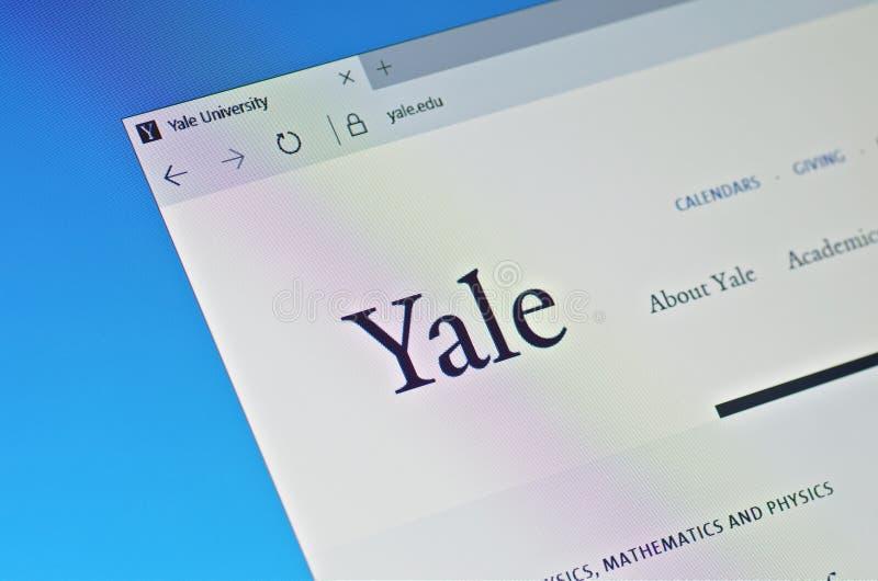 Universidad de Yale imagenes de archivo