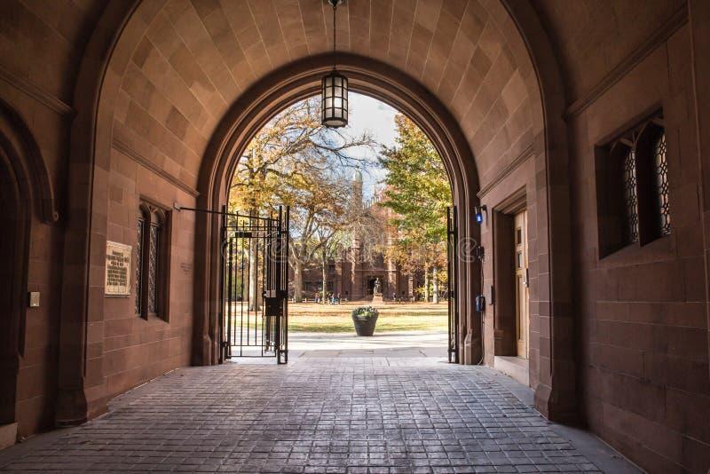 Universidad de Yale fotos de archivo libres de regalías