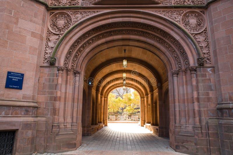 Universidad de Yale imagen de archivo libre de regalías