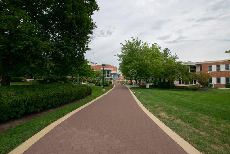Universidad de York del campus de Pennsylvania imagen de archivo
