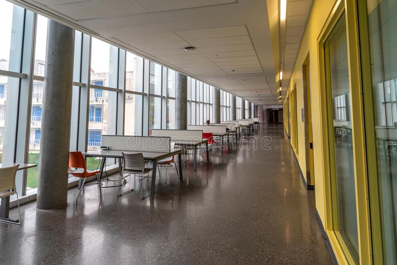 Universidad del campus de Calgary fotos de archivo