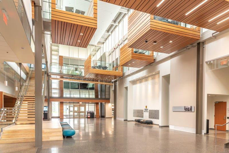 Universidad del campus de Calgary foto de archivo libre de regalías