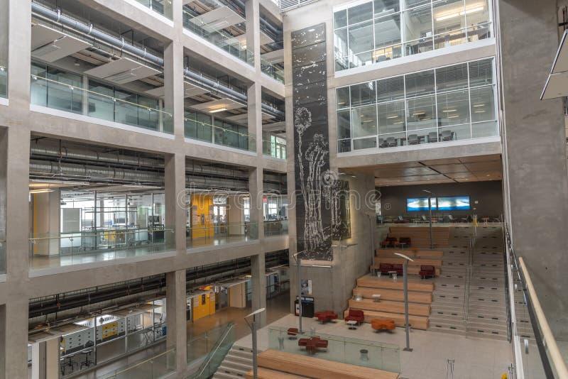 Universidad del campus de Calgary imagen de archivo libre de regalías