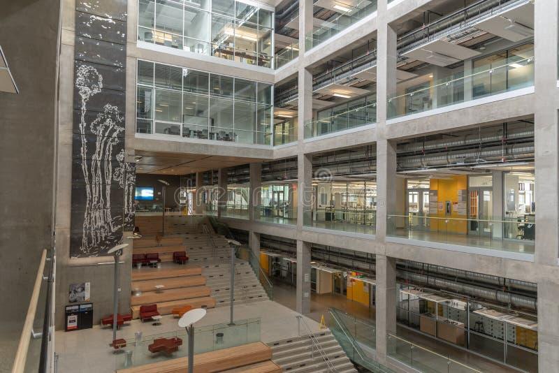 Universidad del campus de Calgary imagen de archivo