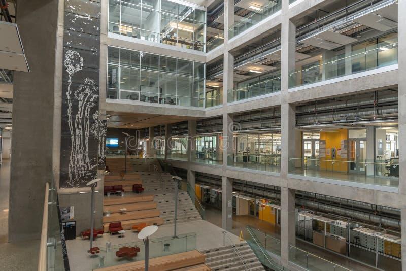 Universidad del campus de Calgary imágenes de archivo libres de regalías