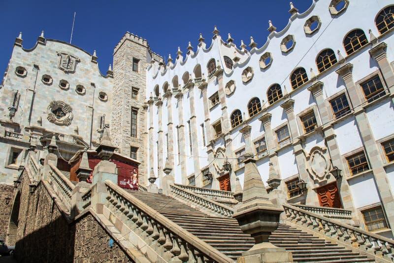 Universidad del guanajuato, México fotografía de archivo libre de regalías