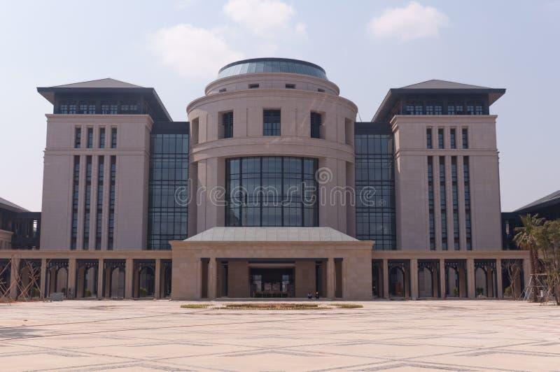 Universidad del nuevo campus de Macao imagenes de archivo