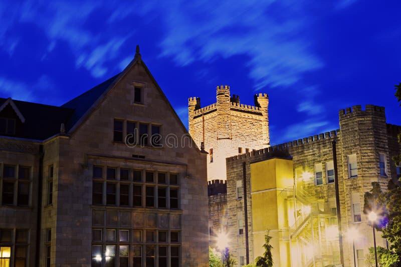 Universidad en Charleston imagen de archivo libre de regalías
