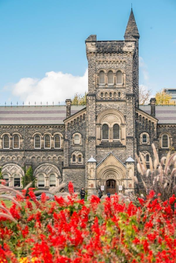 Universidad en la universidad de Toronto imagenes de archivo