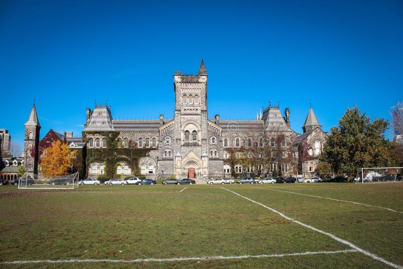 Universidad en la universidad de Toronto, en Toronto imagenes de archivo
