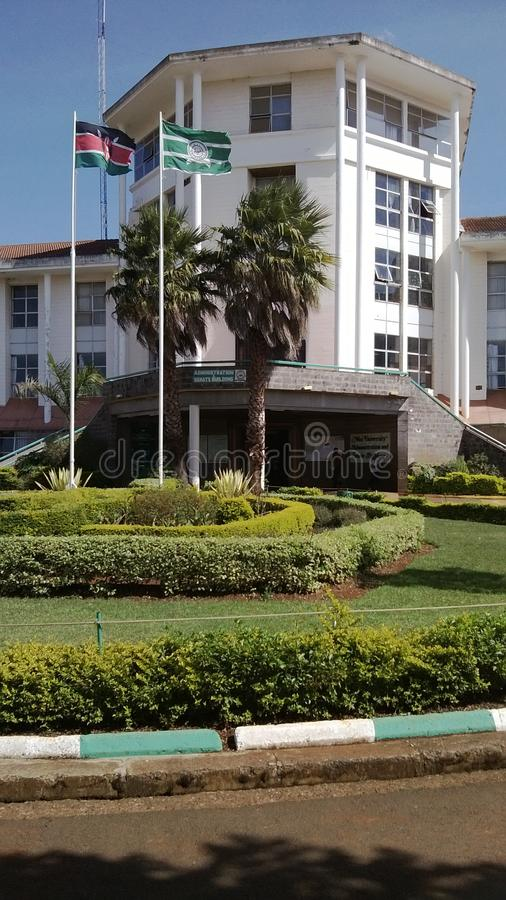 Universidad Kenia del Moi imagen de archivo