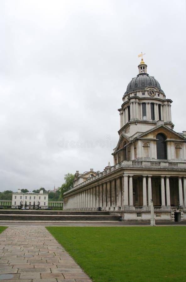 Universidad naval real, Greenwich foto de archivo