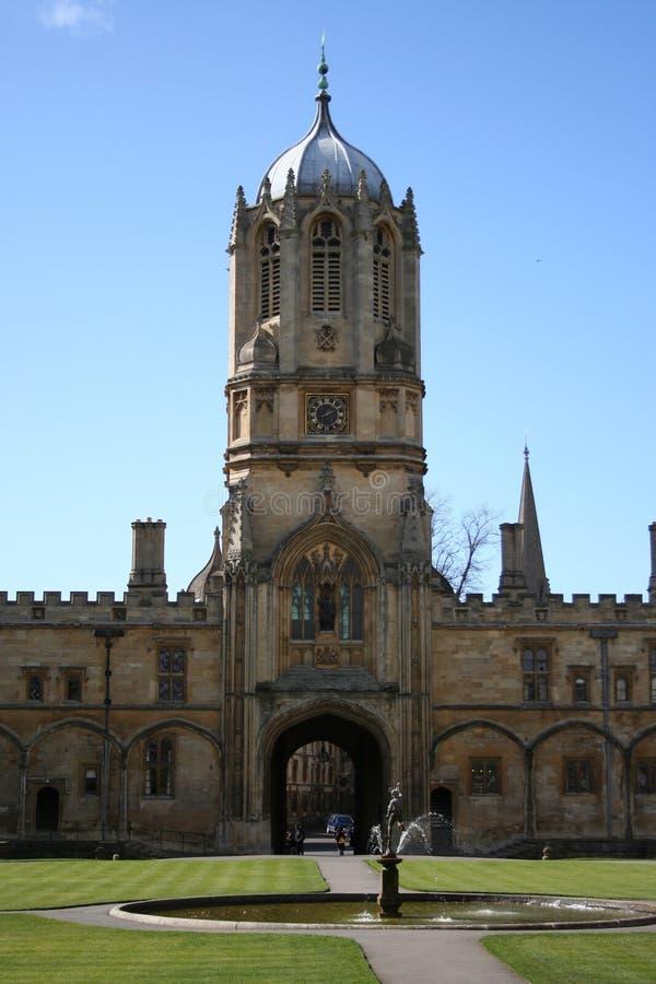 Universidad Oxford de la iglesia de Cristo fotografía de archivo