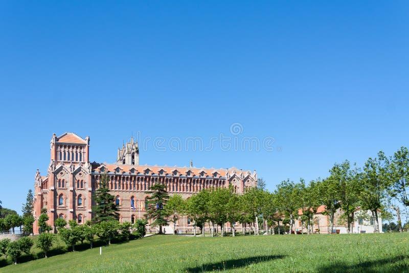 Universidad pontifical de Comillas fotografía de archivo