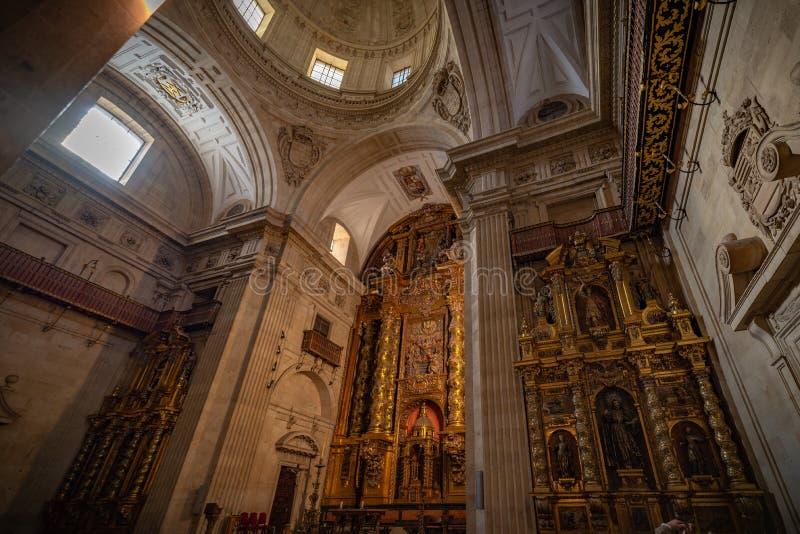 Universidad Pontificia de Salamanca fotografía de archivo libre de regalías