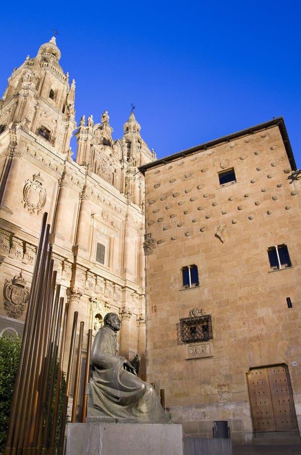 Universidad Pontificia - Salamanca imagen de archivo libre de regalías