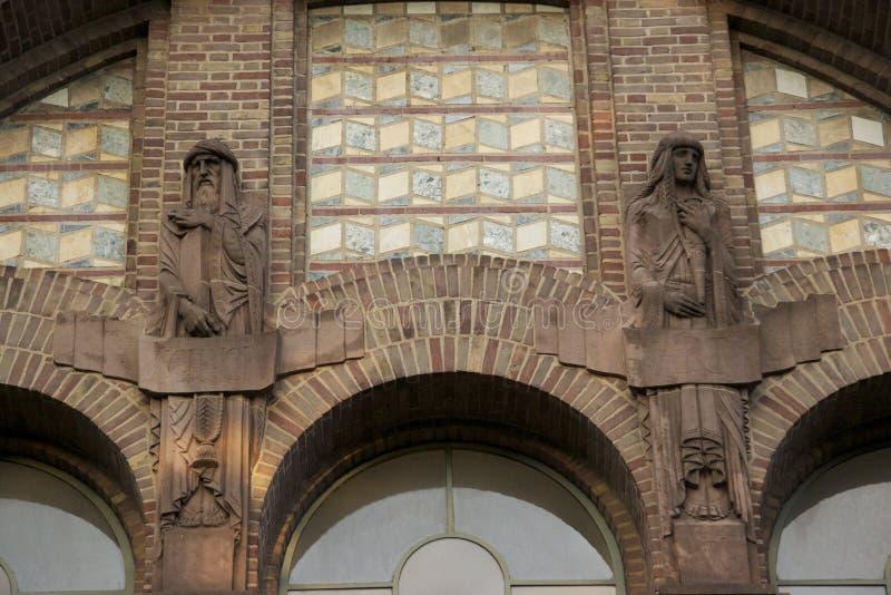 Universidad que construye 3 fotos de archivo