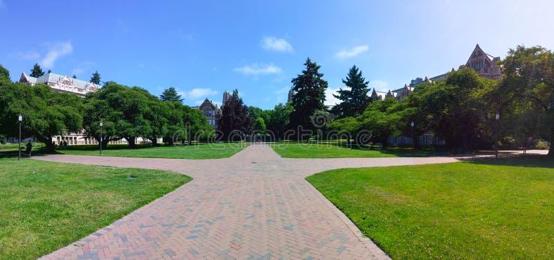 Universidad Seattle de Washington fotos de archivo