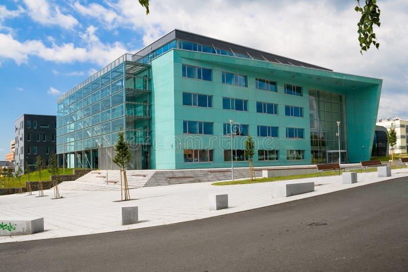Universidad técnica en Ostrava foto de archivo libre de regalías
