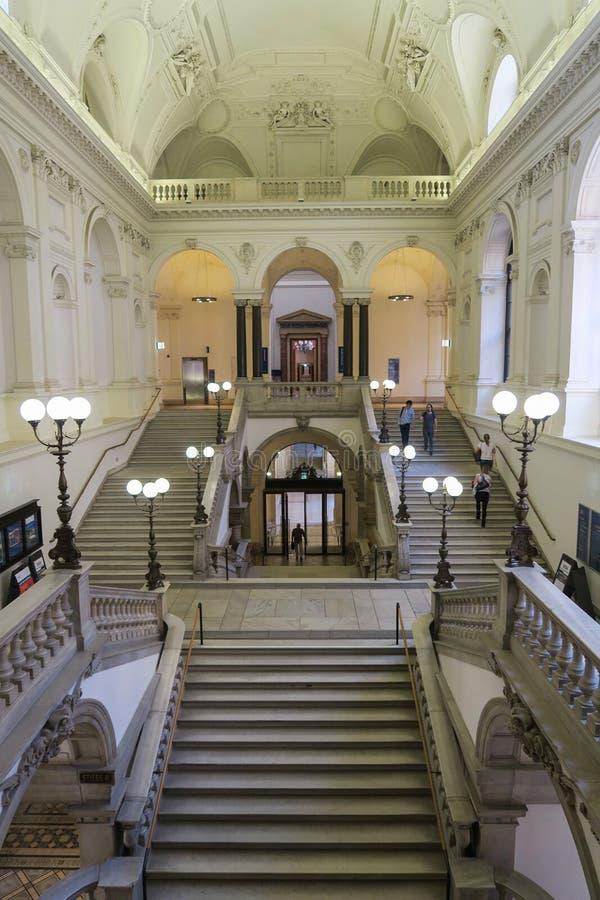 Universidade bonita de Viena fotos de stock royalty free