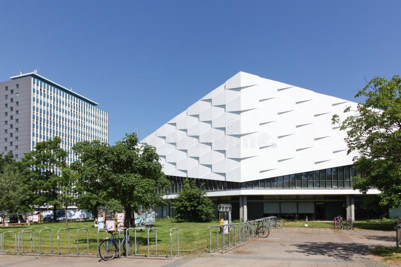A universidade Christian Albrecht em Kiel Germany imagens de stock
