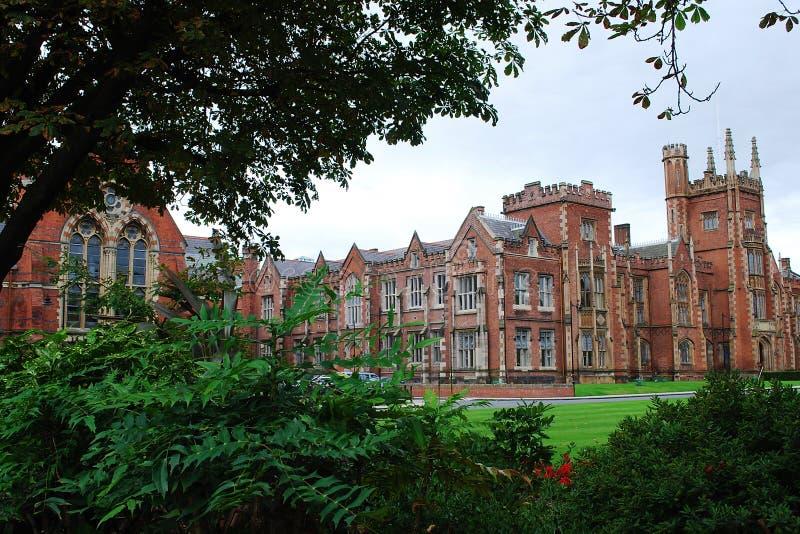 Universidade da rainha, Belfast fotografia de stock royalty free