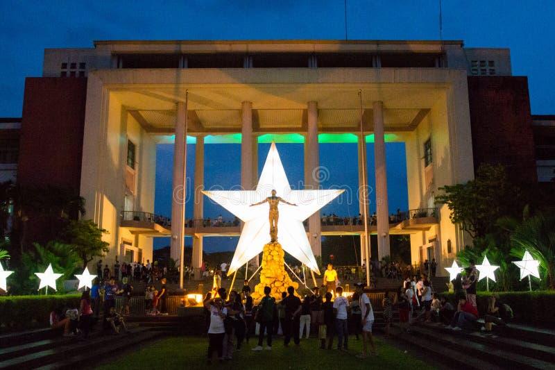 Universidade das Filipinas fotos de stock royalty free