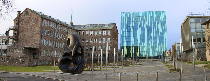 Universidade de Aberdeen imagens de stock