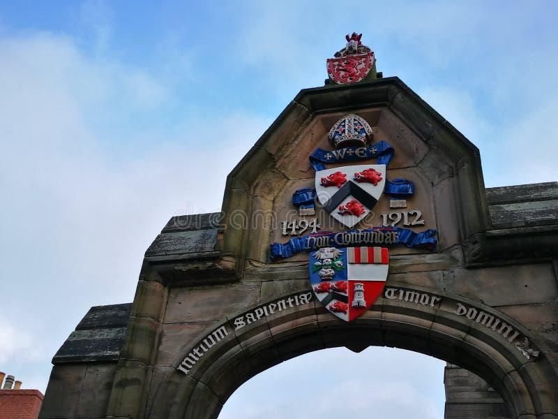 Universidade de Aberdeen foto de stock