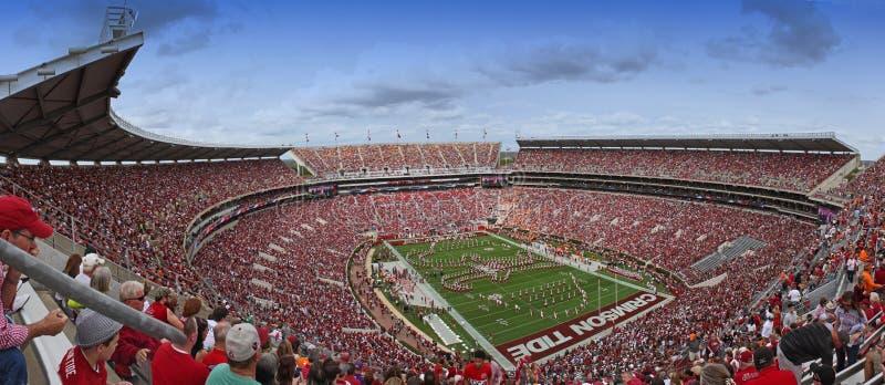 Universidade de Alabama milhão faixas do dólar pregame foto de stock royalty free