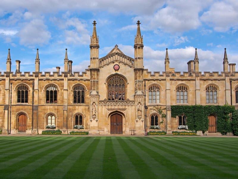 Universidade de Cambridge, corpus Christi College imagens de stock