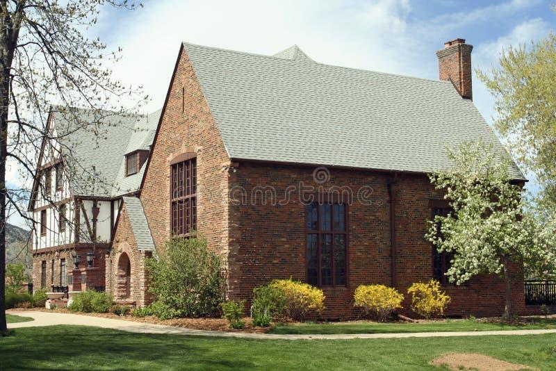 Universidade de Colorado - Boulder imagens de stock royalty free