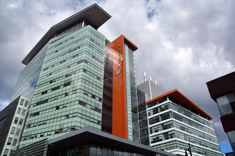 Universidade de Concordia John Molson Building fotos de stock