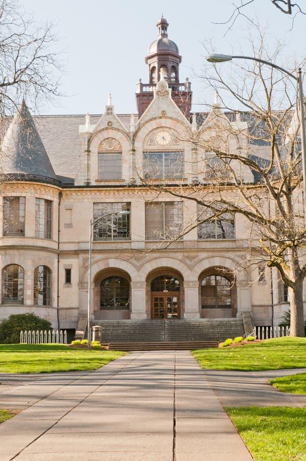 Universidade de Denny Salão de Washington imagem de stock royalty free