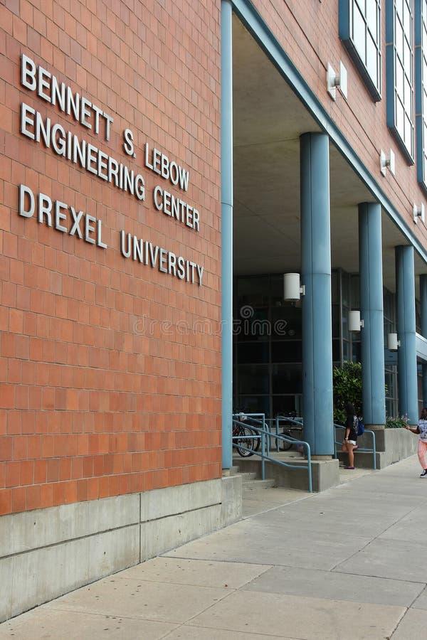 Universidade de Drexel, Philadelphfia fotos de stock royalty free