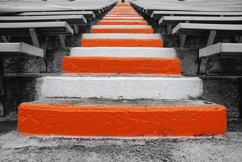 Universidade de escadas do campo de futebol de Tennessee fotos de stock