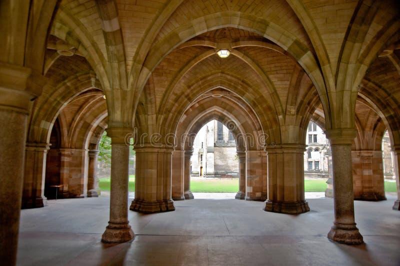 Universidade de Glasgow fotografia de stock