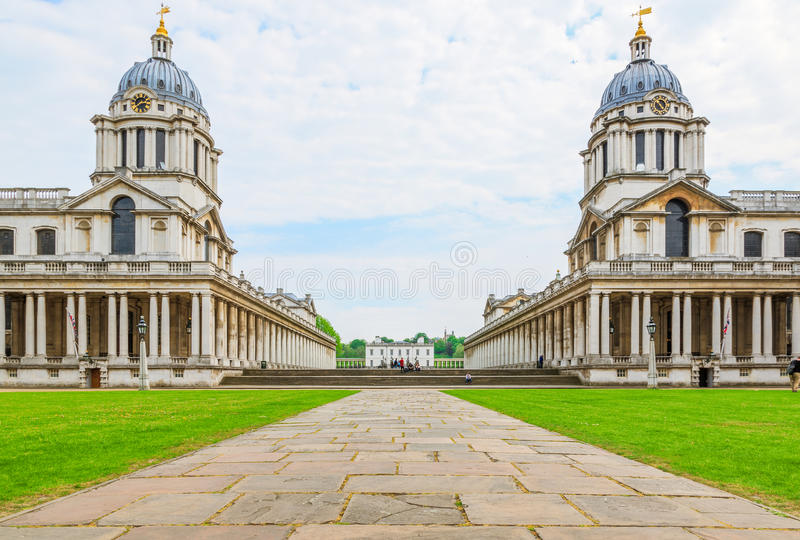A universidade de Greenwich fotos de stock royalty free
