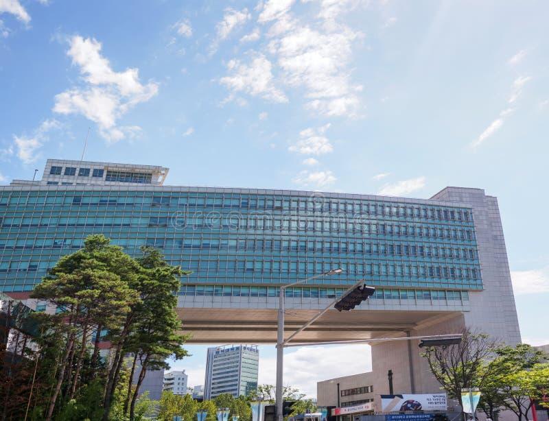 Universidade de Hong-Ik em Seoul Coreia imagem de stock royalty free