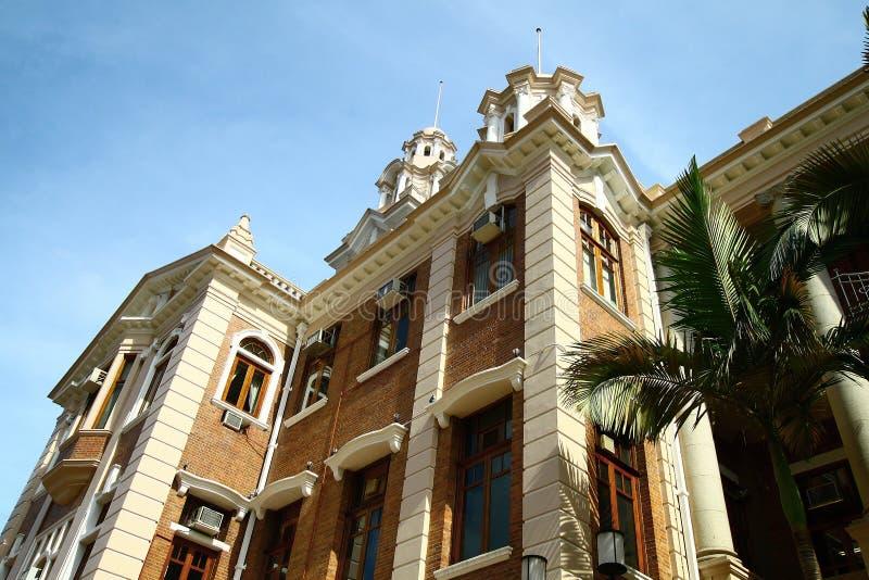 A universidade de Hong Kong foto de stock